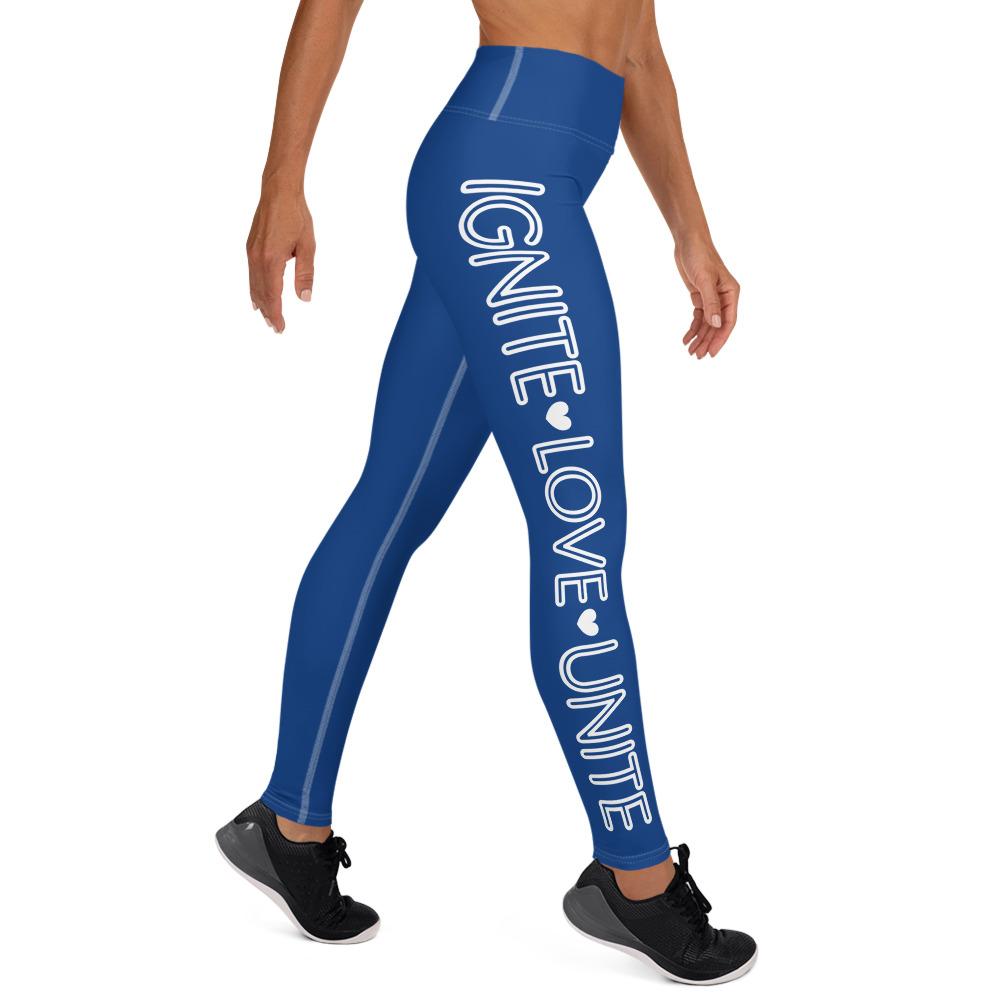 Blue Ignite Leggings – t4mefitness