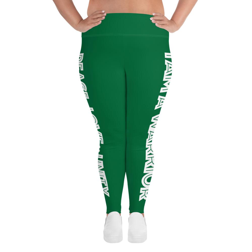 Green Warrior Plus Size Leggings – t4mefitness